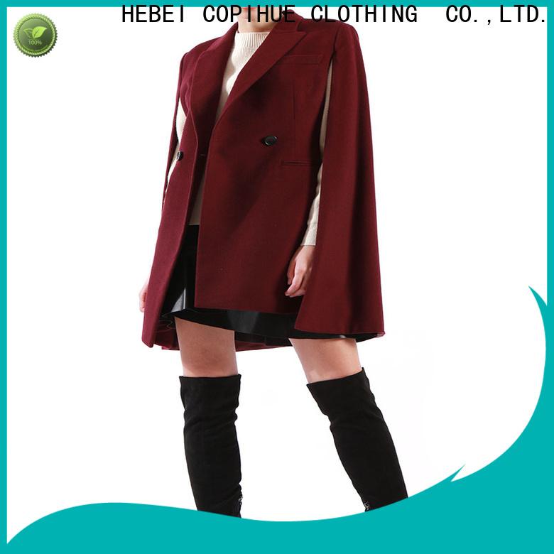 COPIHUE CLOTHING black cape manufacturer for business