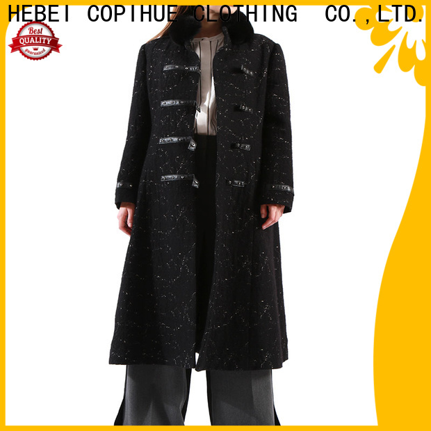 COPIHUE CLOTHING red coat women manufacturer for female