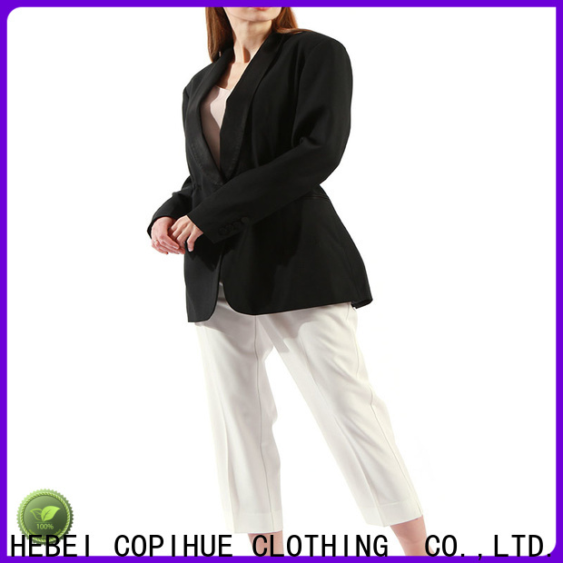 COPIHUE CLOTHING comfortable long blazer manufacturer for daily casual