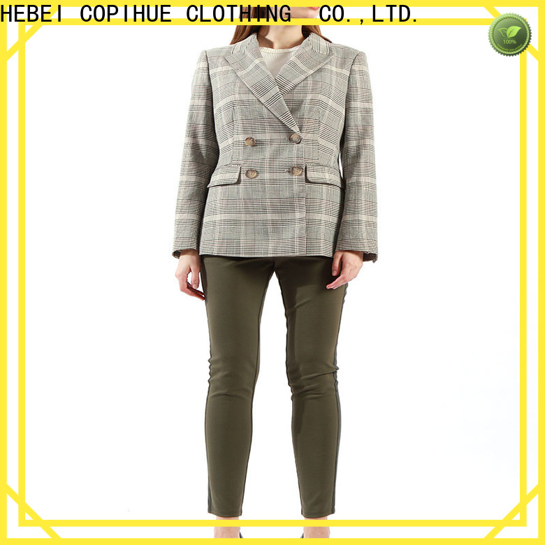 COPIHUE CLOTHING grey blazer on sale for daily casual