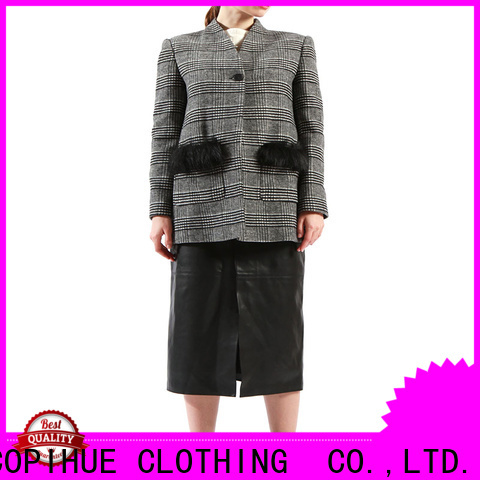 COPIHUE CLOTHING comfortable grey blazer wholesale for daily casual