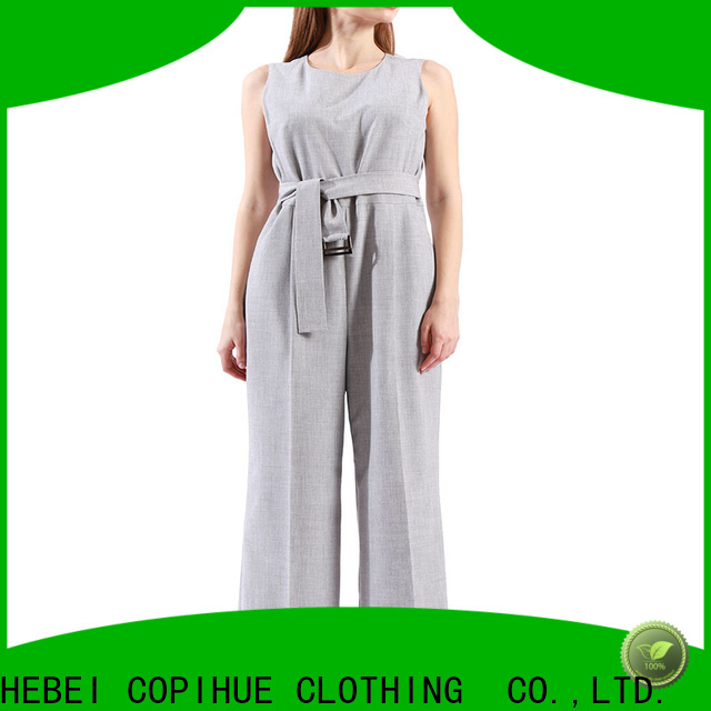 COPIHUE CLOTHING fashion grey jumpsuit supplier for party