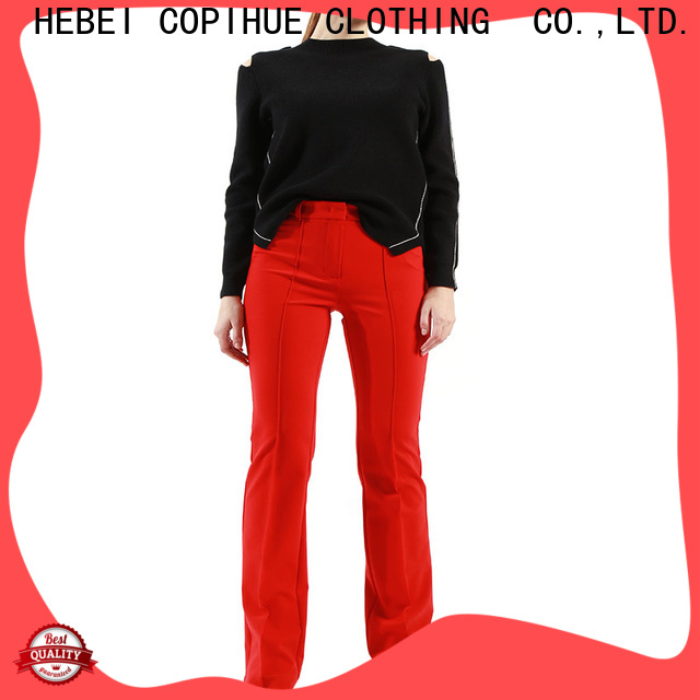 COPIHUE CLOTHING hot selling formal pants for ladies customized for ladies