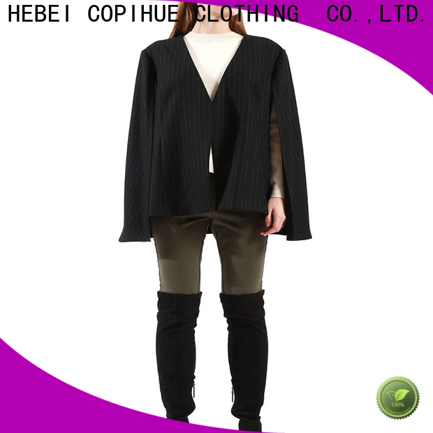COPIHUE CLOTHING fashion cape jacket factory price for work