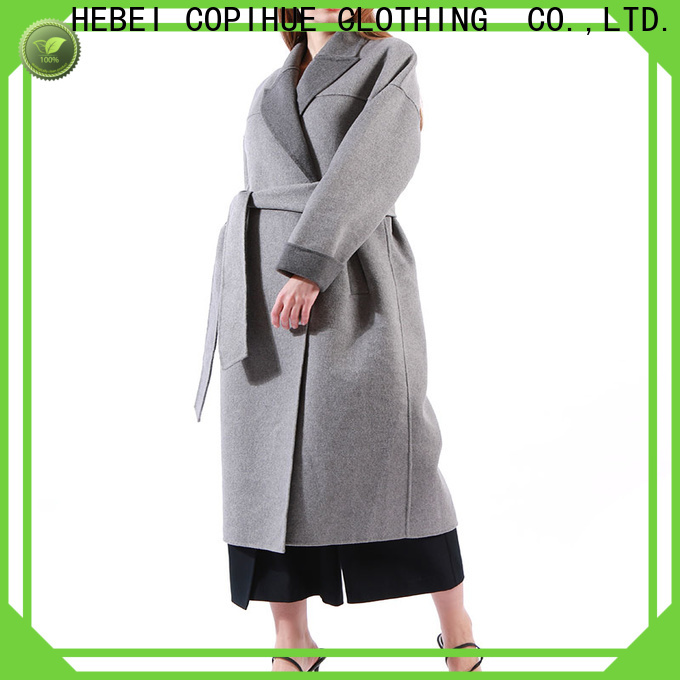 COPIHUE CLOTHING red coat women wholesale for women
