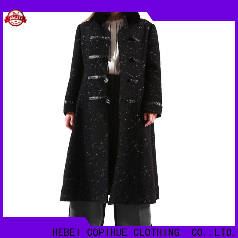 COPIHUE CLOTHING popular womens wool winter coats factory price for ladies