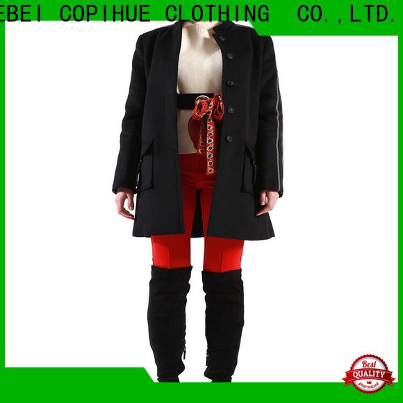beautiful womens wool winter coats wholesale for female
