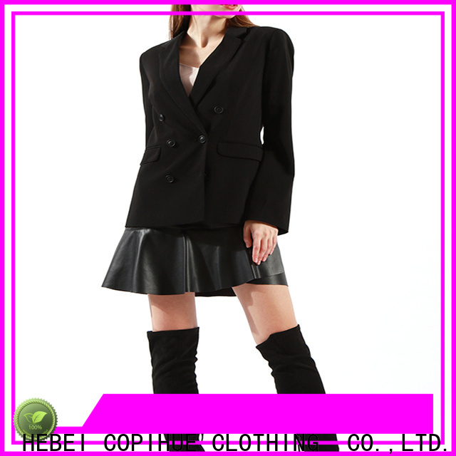 COPIHUE CLOTHING popular long blazer factory price for daily casual