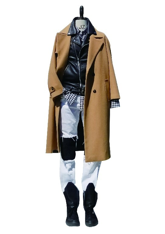 Modern Men's Full Wool Overcoat