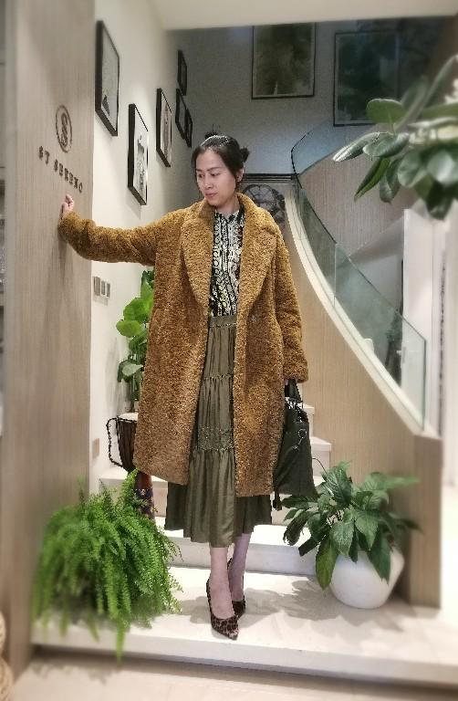 Fake Fur Royal Long Coat