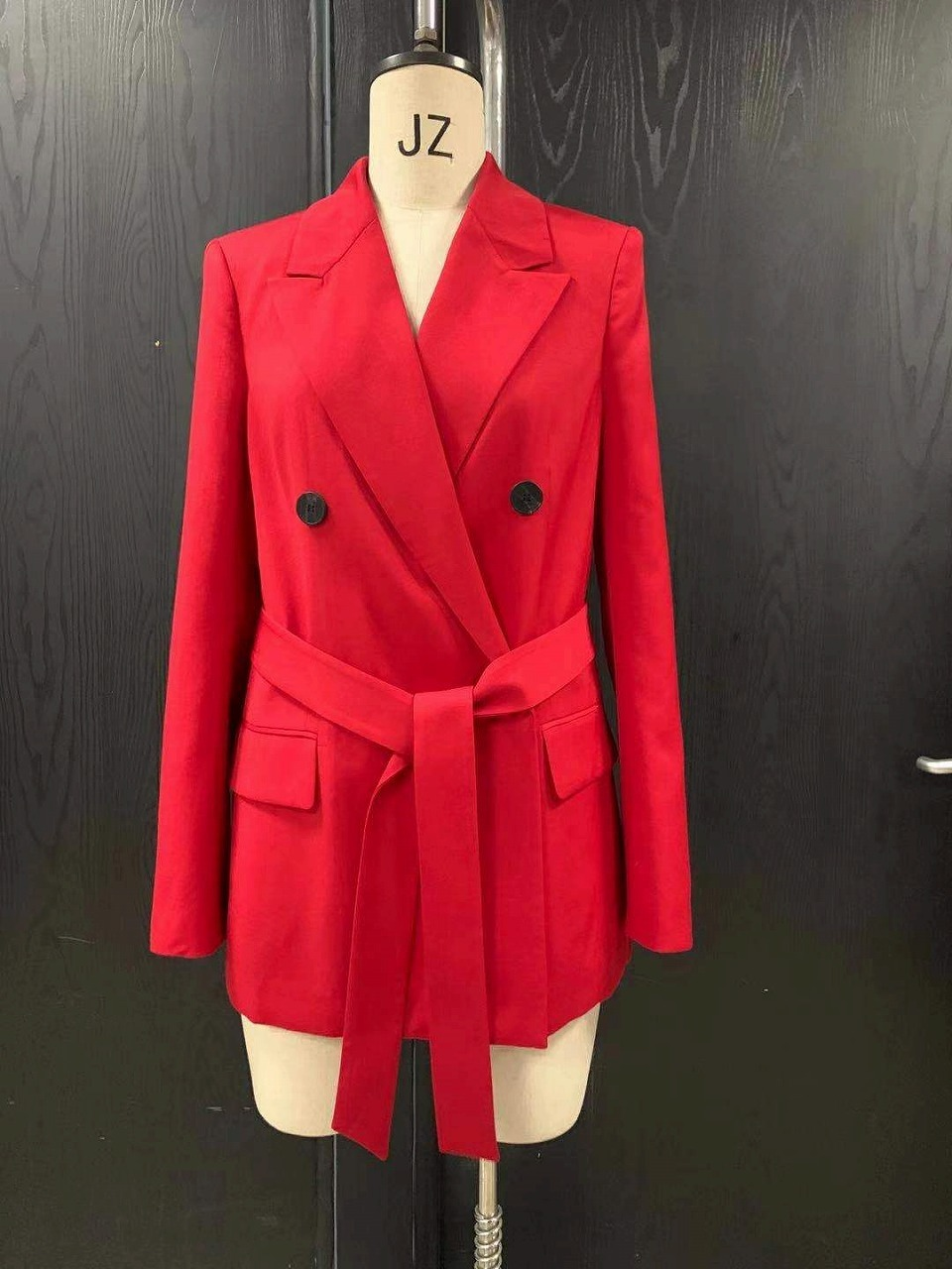 Womens red suit