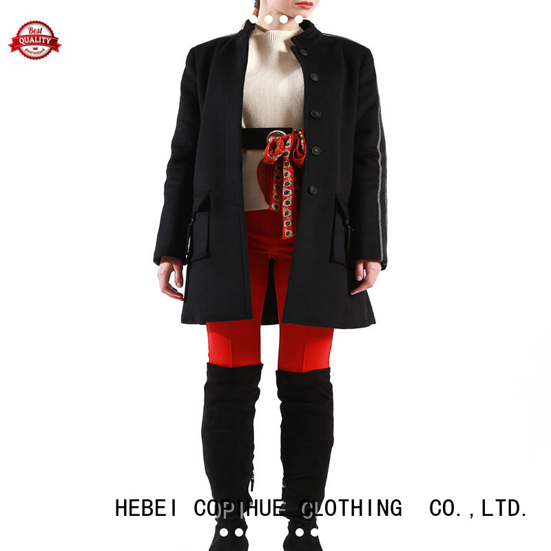 COPIHUE CLOTHING ladies wool coat factory price for girl
