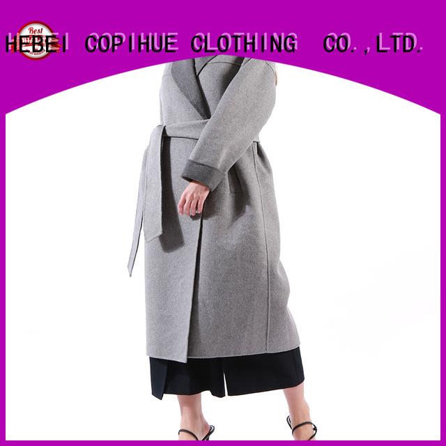comfortable ladies wool coat wholesale for women