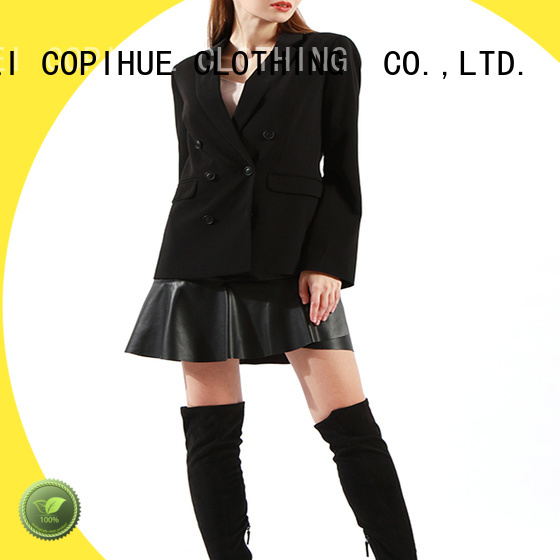 COPIHUE CLOTHING comfortable long blazer factory price for work office