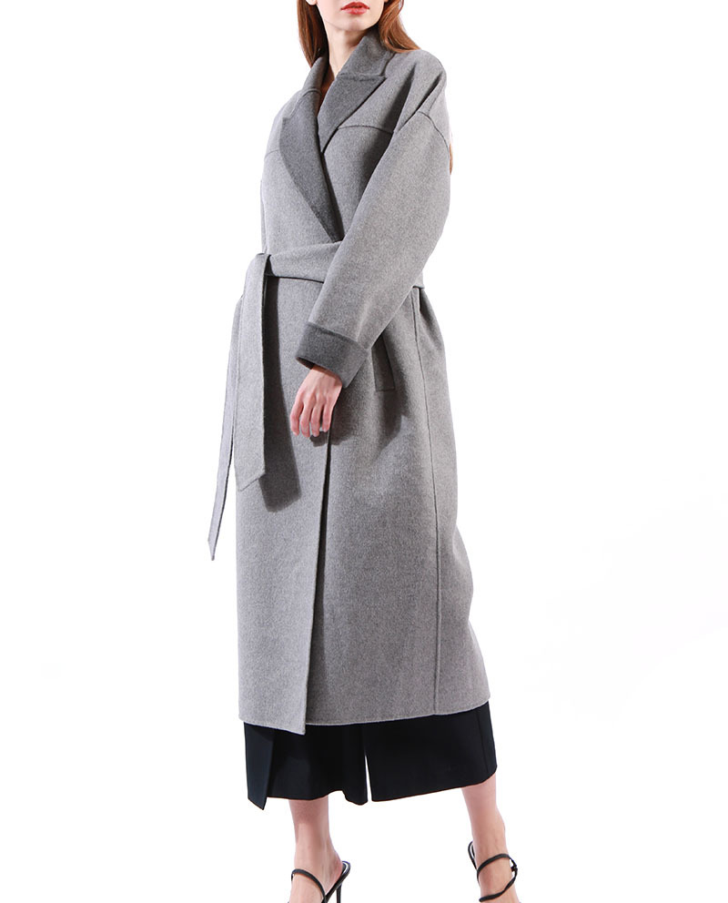 Good Quality Wool Winter Long Coat for Women