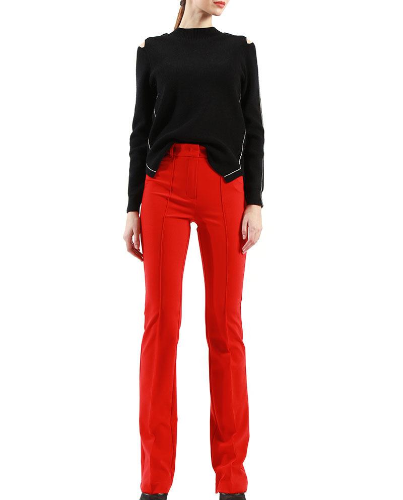 Ladies Designer Trouser Stretch Fit Women Formal Trousers