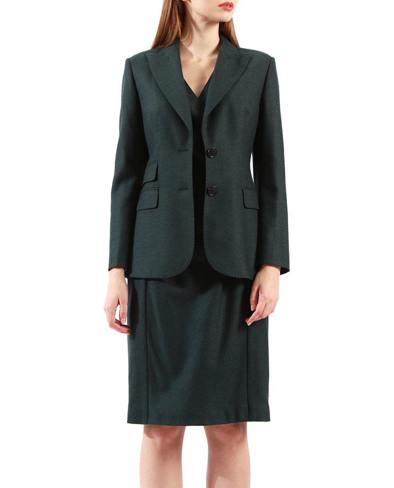 Womens Tailored Dress Suits Formal Dress With Jacket for Sale