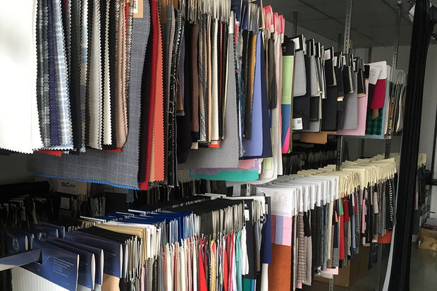 Fabric Sample Room
