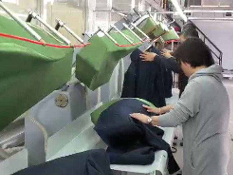 WEISHI-Automatic Professional Ironing Stereotypes Machine