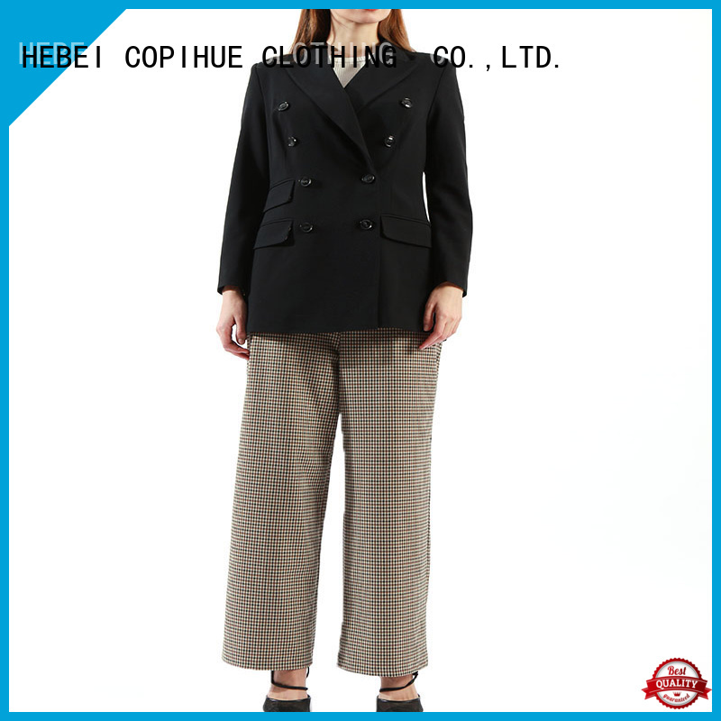 COPIHUE CLOTHING comfortable formal trousers customized for ladies