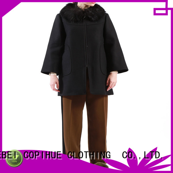 fashion black cape factory price for casual