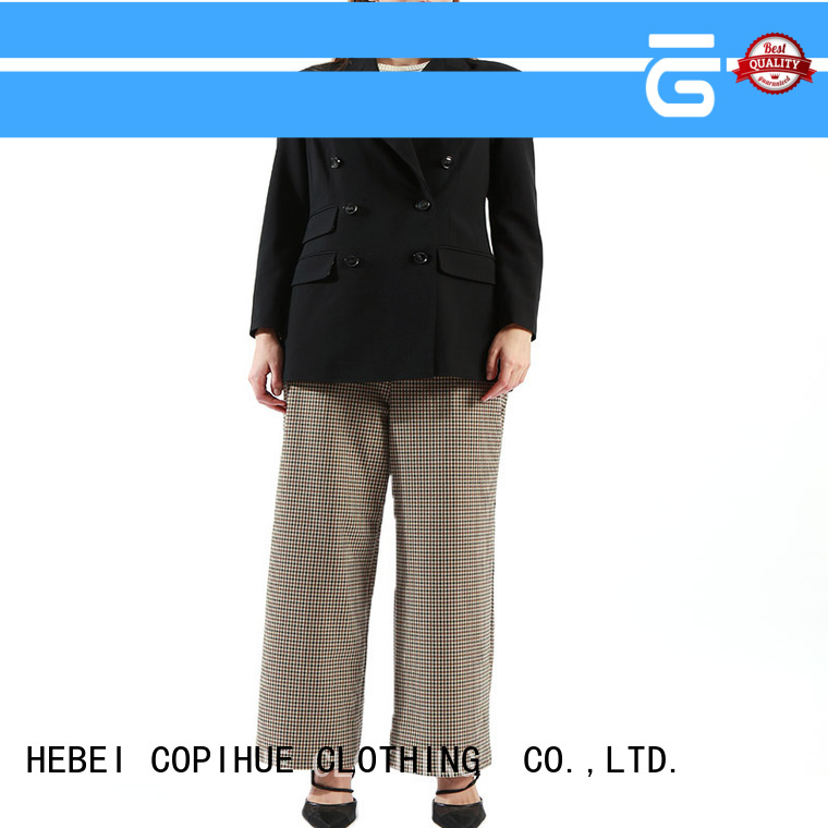 COPIHUE CLOTHING ladies cropped trousers manufacturer for ladies