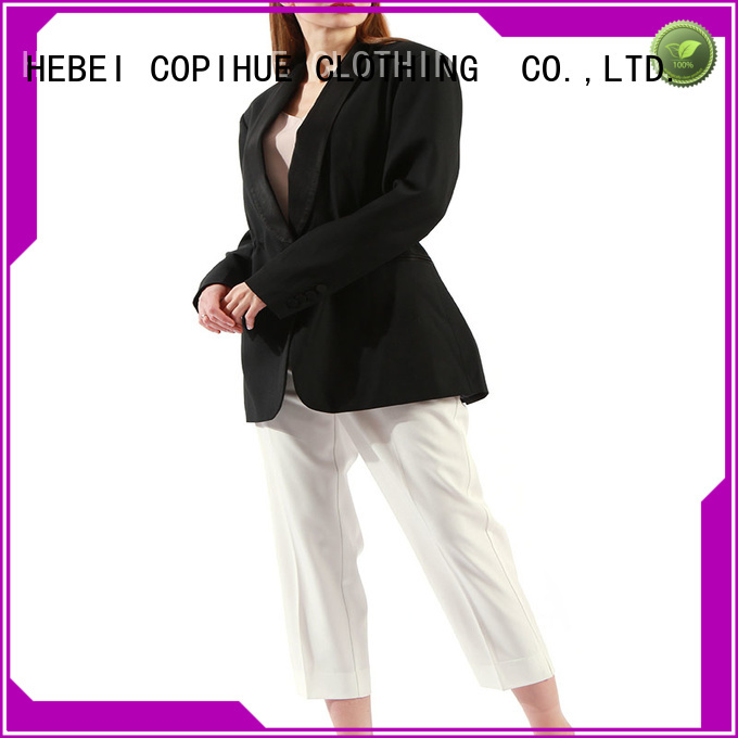 COPIHUE CLOTHING long blazer factory price for daily casual
