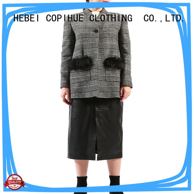 COPIHUE CLOTHING beautiful cotton jacket factory price for work office