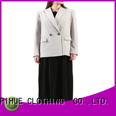 COPIHUE CLOTHING longline blazer factory price for daily casual