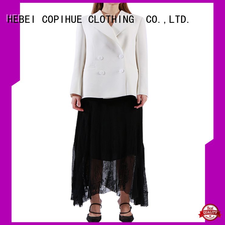 COPIHUE CLOTHING popular long blazer manufacturer for business