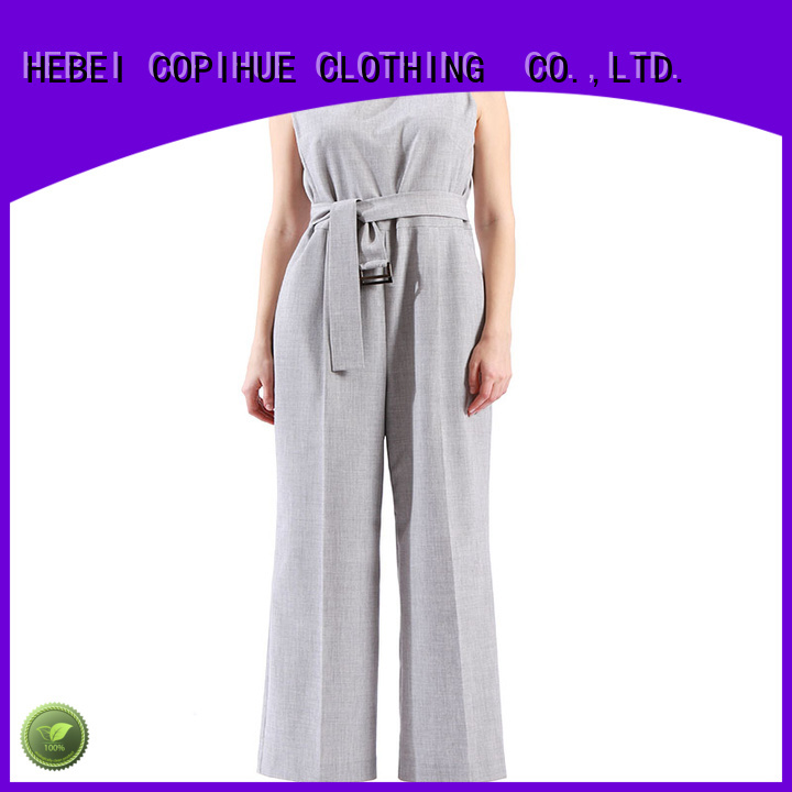 COPIHUE CLOTHING black formal jumpsuit factory price for casual