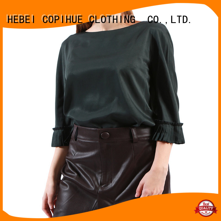 COPIHUE CLOTHING unique women's long sleeve blouses factory price for work