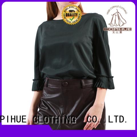 COPIHUE CLOTHING unique women's long sleeve blouses wholesale for work