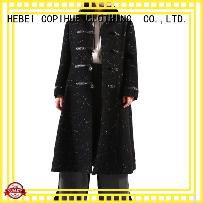 COPIHUE CLOTHING beautiful ladies wool coat factory price for girl