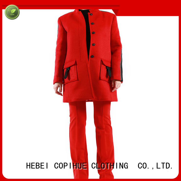 COPIHUE CLOTHING comfortable wool winter coat factory price for female