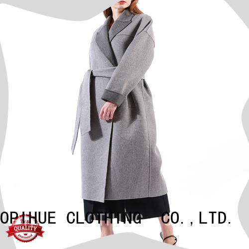 COPIHUE CLOTHING beautiful long black coat women on sale for ladies