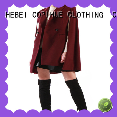 COPIHUE CLOTHING fur cape factory price for party